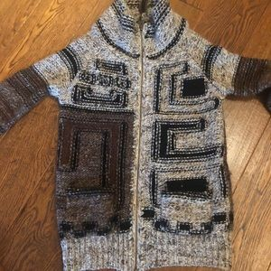 Wilfred knit zip up